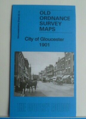 OLD ORDNANCE SURVEY MAPS CITY OF GLOUCESTER  GLOUCESTERSHIRE  1901 Discount