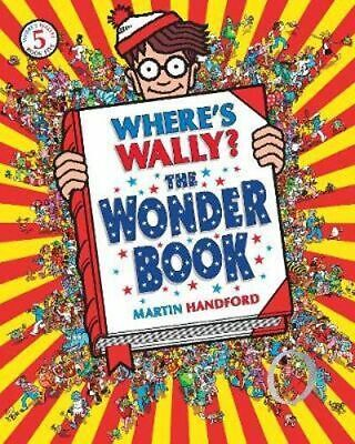 NEW Where's Wally? The Wonder Book By Martin Handford Paperback Free Shipping