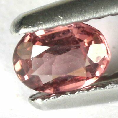 *0.25 cts. 5.2 x 3.8 mm. UNHEATED NATURAL CABOCHON PURPLE RHODOLITE GARNET OVAL