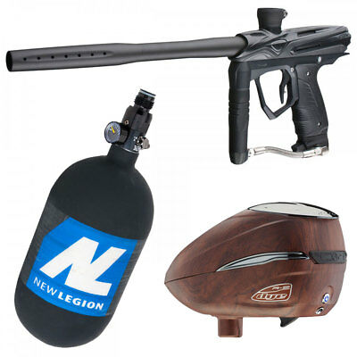 GoG Smart Parts ION eXTCy Paintball Markierer Set mit HP System & Dye R2 Loader