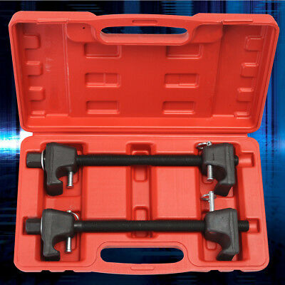 2x Coil Spring Compressor Clamp Heavy Duty Quality Car Truck Auto Tool Set