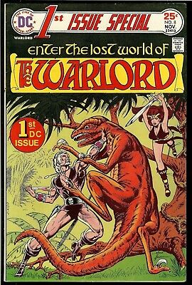 1ST ISSUE SPECIAL #8 FIRST APPEARANCE of THE WARLORD! MIKE GRELL! DC BRONZE! VF-