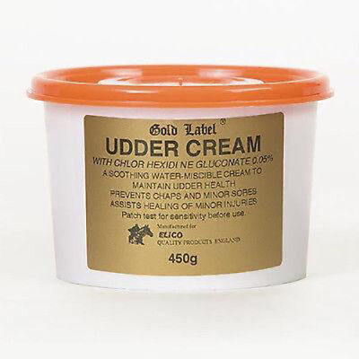 Gold Label Udder Cream Soothing For Horses And Prevents Chaps