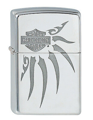 zippo harley davidson tribal tattoo wings mib eur 35 00. Black Bedroom Furniture Sets. Home Design Ideas