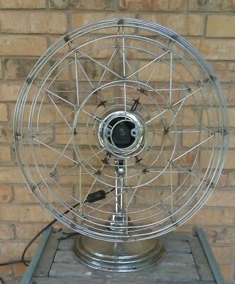 Vintage FRESH'ND AIRE Model 20 Electric Fan - Runs No Blade