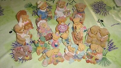 17 figurines ours et oursons