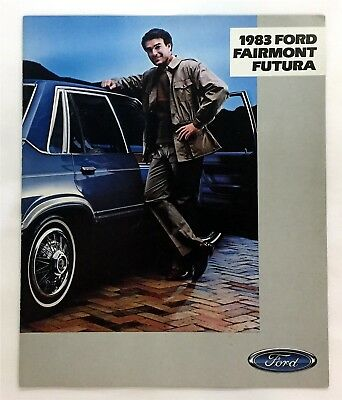 Car Auto Brochure 1983 Ford Fairmont Futura 12 Pages