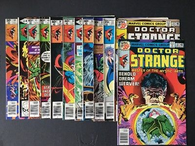 Dr. Strange Bronze Age Mini Run 32-44 Original Owner