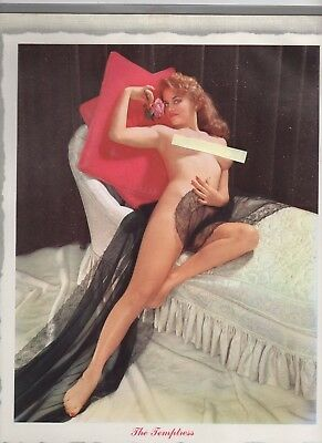 1960 Service Station Calendars with Topless Pinup Girls
