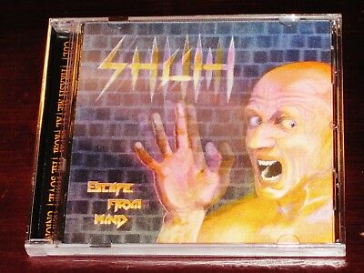 Shah: Escape From Mind - Limited Edition CD 2016 Stormspell USA SSR-DOS185 NEW