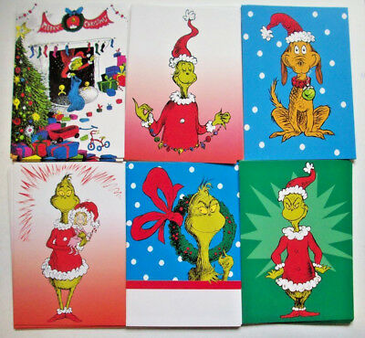 24 Dr. Suess How the Grinch Stole Christmas Greeting Cards