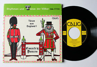 "TÄNZE AUS ENGLAND I - Country Dances - 7"" Single vinyl calig CAL 177739"