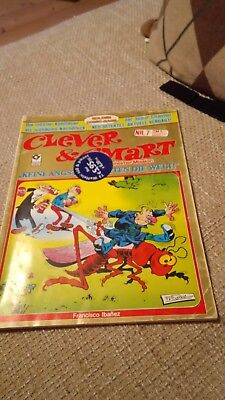 Comic Heft Clever & Smart in geheimer Mission Nr. 7