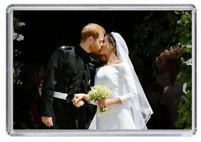 Prince Harry and Meghan Markle Royal Wedding Fridge magnet 05