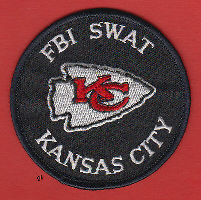 Kansas City Missouri Fbi Swat Police  Patch