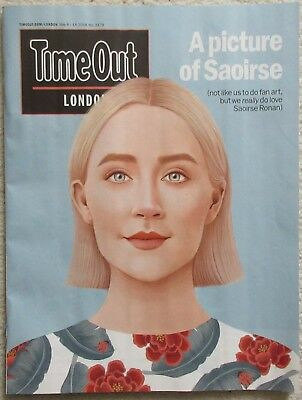 Saoirse Ronan - Time Out magazine – 8 May 2018