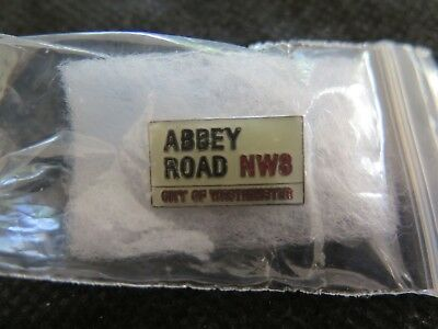 THE BEATLES ABBEY ROAD NW8 City Of Westminster    Pin Badge