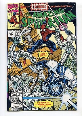 1992 Marvel Amazing Spider-Man #360 1St App Carnage In Cameo Nm+ Nm/mt 9.6 9.8