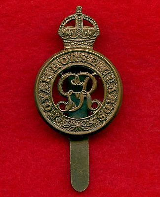 WW2 Great Britain Royal Horse Guard Cap Badge
