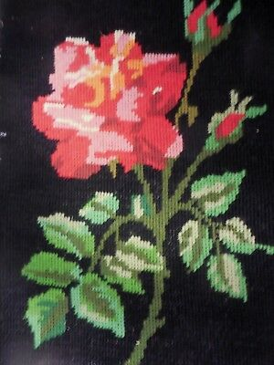 Tapestry Completed Royal Paris Refouche Main Rose 98