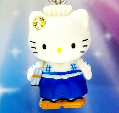 Hello Kitty X Dear Daniel Loves Reading Swarovski Elements Crystals Japan Charm