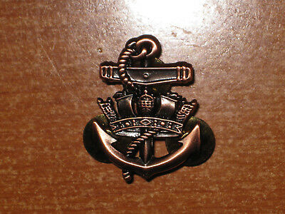 Royal Canadian Navy RCN Sea Service Badge Level 2 Bronze