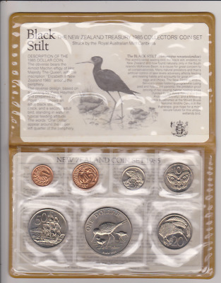 1985 New Zealand Treasury Collectors' Coin Set
