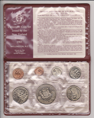 1983 New Zealand Collectors' Coin Set