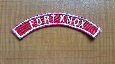 BSA, Fort Knox, 1950's Military Base Red and White Strip (MBS)