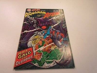 The Brave and the Bold Comic # 73 VG 1967 Aquaman and The Atom Aqualad
