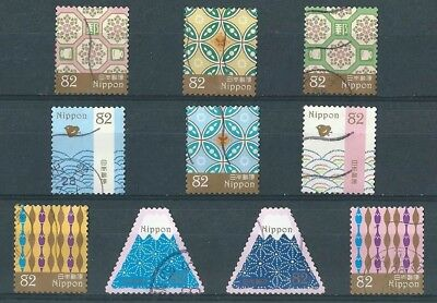 2016 F/Used Traditional Japanese Designs set as scan