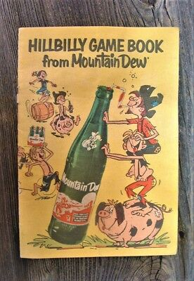 Rare 1967 Mountain Dew Hillbilly Game Book Complete