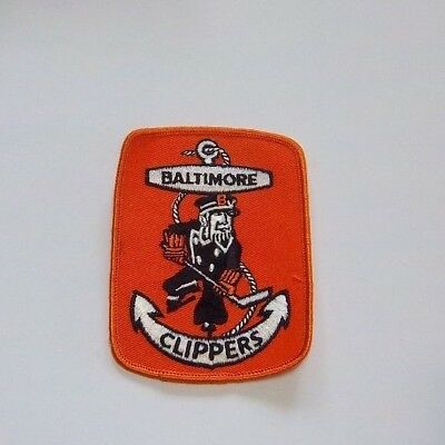 Baltimore Clippers Team patch logo AHL from the Woody Ryan Collection