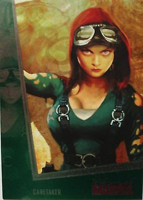 Women of Marvel 2 emerald foil card Caretaker 073/100 Rittenhouse
