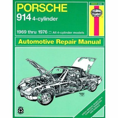 Porsche 914 Four-cylinder Owner's Workshop Manual (Hayn - Paperback NEW Haynes,