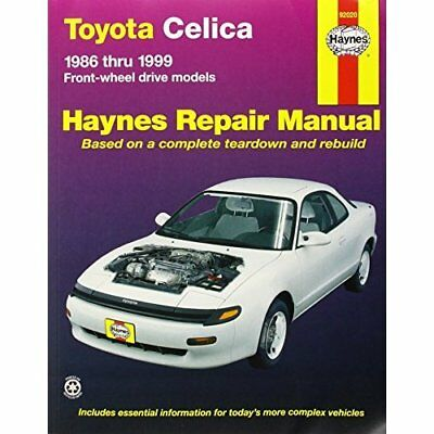 Toyota Celica FWD Automotive Repair Manual: 1986-1999 ( - Paperback NEW Warren,