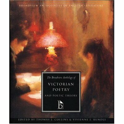 The Broadview Anthology of Victorian Poetry and Poetic  - Paperback NEW Rundle,