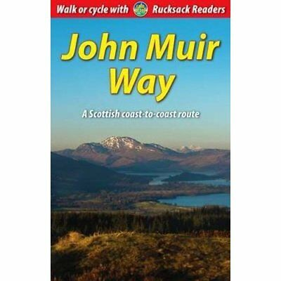 John Muir Way: A Scottish Coast-to-coast Route - Spiral-bound NEW Sandra Bardwel