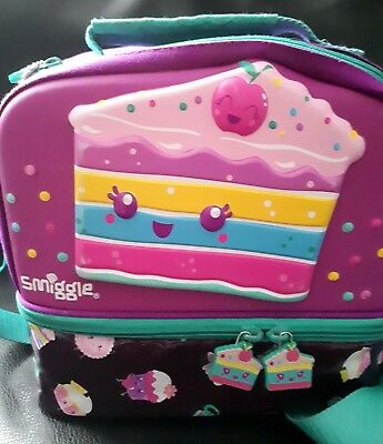 Smiggle Large Lunch Bag Box Holder And Long Strap