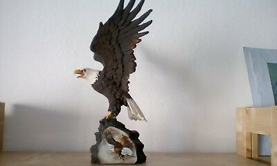 Weisskopf Seeadler Limited Edition Ted Blaylock Canyon Guardian  Eagle Skulptur