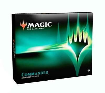 commander Anthology Set 4 Decks + 4 Dice OVP Sealed factory sealed 4 dice!