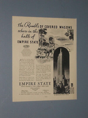 7 1931-1932 Empire State Building Ads Office Rentals For Empire State Building