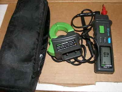 Electronic Test Equipment ISO-TECH ICA 15 and IDM 17 Clamp Meter