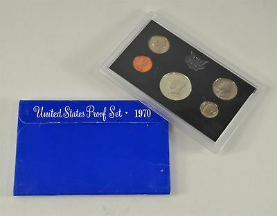 MBarr 1970 Set of 5 Proof Coins United States 40% Silver Half