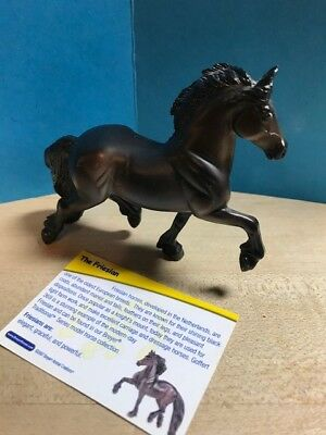 Breyer Black Friesian Stablemate
