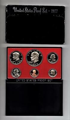 1977 S United States Mint Proof Set in Original US Government Packaging