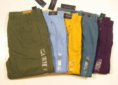 Tommy Hilfiger Men's Slim Fit Light Weight Chino Pants