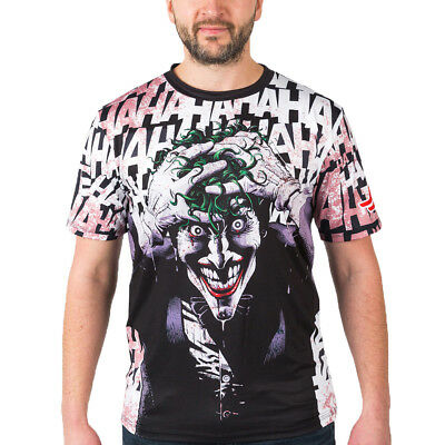 Fusion Fight Gear Batman The Killing Joke Loose Fit Short Sleeve Rashguard