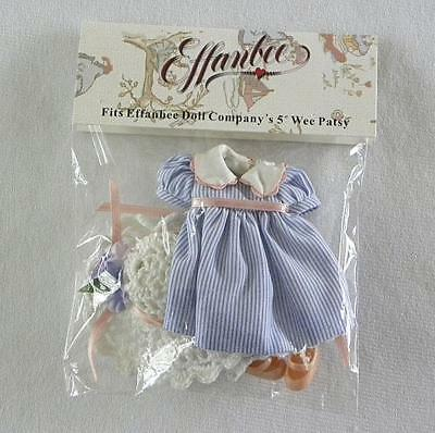 "Tonner 2006 Collectors Club Effanbee 5"" Wee Patsy Doll Garden Party Outfit Mint"