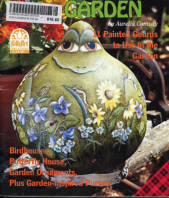 PAINTING BOOK - GOURDS IN THE GARDEN by Aurelia Conway